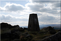 SD7559 : Trig point by ALAN SOUTHWORTH