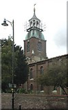 TQ1068 : St Mary, Sunbury-on-Thames by John Salmon