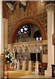 TQ1068 : St Mary, Sunbury-on-Thames - Chancel by John Salmon