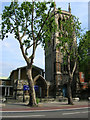 TQ3178 : St Mary's Church Newington, Kennington Park Road, London SE11 by Robin Sones
