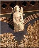 TQ1068 : St Mary, Sunbury-on-Thames - Corbel by John Salmon