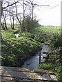 SJ8107 : Brook near Hubbal Grange by John M