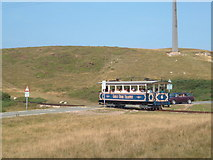 SH7783 : Great Orme tram by Margaret Sutton