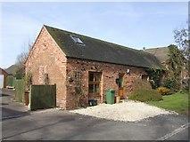 SJ8417 : Small converted barn by John M