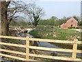 SJ8619 : Moated Farm by John M