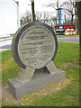 SD5415 : Plaque - Preston M6 Thelwall by Kenneth  Allen