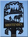 TR0454 : Shottenden village sign by Penny Mayes
