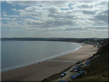 TA1281 : Filey and the Beach from the cliffs by John Phillips