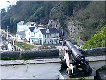 SH5837 : Portmeirion Hotel, from the Battery by Nigel Davies