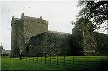 NR9057 : Skipness Castle by David Wyatt