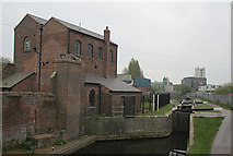 SO9988 : Titford Pump House and Tat Bank top lock by Alan Murray-Rust