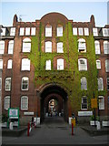 TQ3084 : Entrance to Caledonian Estate, Caledonian Road by Danny P Robinson