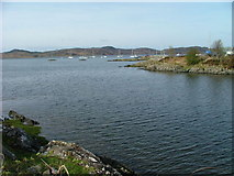 NM6586 : Arisaig Bay by Dave Fergusson