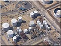 SU4404 : Oil storage tanks at Fawley Refinery (low-altitude aerial) by David Martin