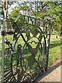 NZ4818 : Linthorpe cemetery gates by Carol Rose