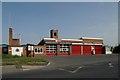 SK5247 : Hucknall Fire Station by Kevin Hale