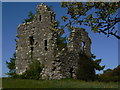 NS3484 : Bannachra Castle by George Rankin