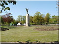 NS5467 : War Memorial in Victoria Park by Darrin Antrobus