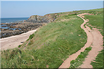 SX6642 : Thurlestone: South West Coast Path by Martin Bodman