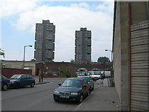 TQ2976 : Pensbury Place, SW8 by Danny P Robinson