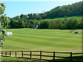 ST7762 : Cricket field, near Monkton Combe by Brian Robert Marshall