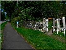 NS3586 : Public Footpath by George Rankin