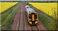 NT1484 : Railway line by Paul McIlroy