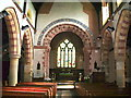 NY1439 : Interior of St Cuthberts Church, Plumbland by Alexander P Kapp