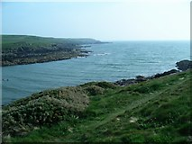 SH3370 : Porth Trecastell, or Cable Bay, looking SSW by Lynne Kirton