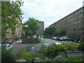 TQ2976 : Lansdowne Green Estate, Wandsworth Road, SW8 by Danny P Robinson