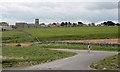NU1735 : Fields Inshore of The Wynding by Mick Garratt