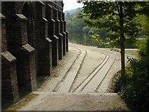 SJ6603 : Iron bridge by Chris Gunns