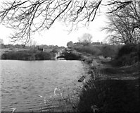 ST9861 : Looking up the Caen Hill locks in 1977 by Dr Neil Clifton