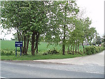 SP5643 : Entrance to Greatworth Hall by Duncan Lilly