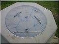 SO9564 : Topograph in Hanbury churchyard by 2d