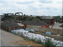 TQ2182 : Metal Recycling Works near Willesden Junction by Danny P Robinson