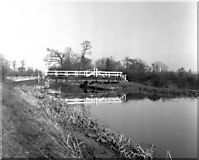 ST9161 : Seend Park Swing Bridge I, Kennet and Avon Canal by Dr Neil Clifton