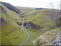 SK1482 : Cave Dale from Peveril Castle by Chris Gunns