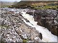 NH0562 : Waterfall on Abhainn Bruachaig by Roddy Smith