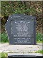 SH7709 : War Memorial at Aberllefenni. by Hefin Richards