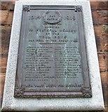 NS3274 : WW I Memorial by Thomas Nugent