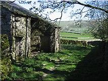 SD8167 : Hargreaves Barn near Little Stainforth by John S Turner