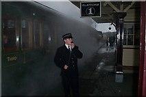 TQ4023 : Steam Train at Sheffield Park Station by Elliott Simpson