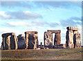 SU1242 : Standing Stones, Stonehenge, Wilts by Vera Baber