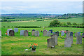 SU5027 : Graveyard of St Andrew's church, Chilcomb by Peter Facey