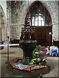 SD6592 : Font, The Parish Church of St Andrew, Sedbergh by Alexander P Kapp