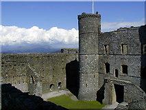 SH5831 : Harlech Castle by Chris Gunns