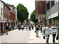 SO8554 : The Shambles, Worcester by Derek Bradley