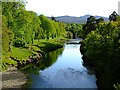 NH5891 : The River Carron by Donald H Bain