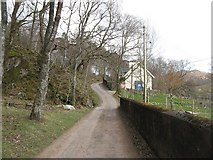 NM7047 : Estate road, Ardtornish by Richard Webb